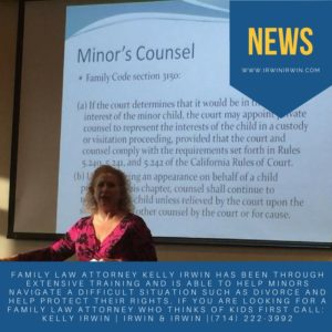 Minor's Counsel Fullerton, California